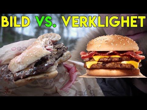 BILD vs. VERKLIGHET | HAMBURGARE - BACON KING