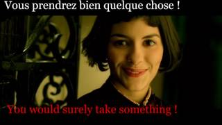 FRENCH LESSON - learn french with a french movie : Amélie Poulain