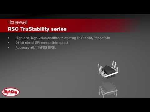 Honeywell TruStability™ RSC Series Board-Mount Pressure Sensors | Digi-Key Daily
