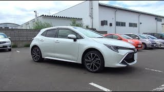2018 New TOYOTA COROLLA SPORT(HATCHBACK) 1.2 Turbo 4WD - Exterior & Interior