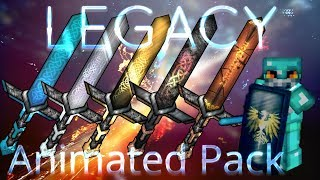 ★★★ LEGACY ANIMATED PvP Texture Pack - Minecraft 1.7 - 1.12 (ALL VERSIONS)