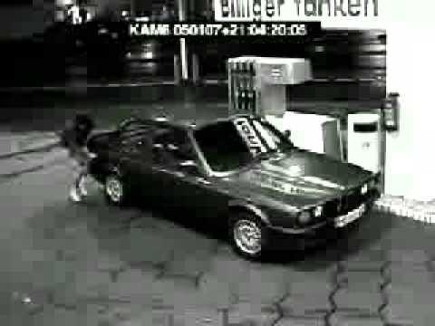 Woman Vs Gas Pump