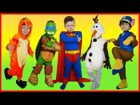 Thumbnail: Learn Colors for Children Superheroes Children Song Finger Family Nursery Rhymes Kids Colors