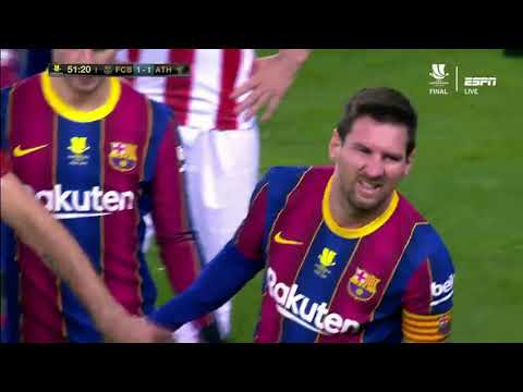 Barcelona vs Athletic Club 2-3  Full Match 2 Half 17/1/2021