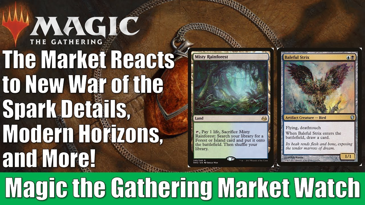 MTG Market Watch: The Market Reacts to New War of the Spark Details, Modern  Horizons, and More