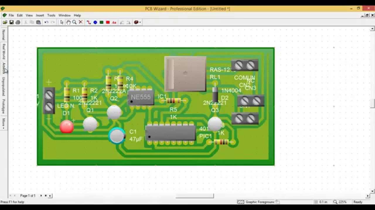 Create circuit Livewire - a - PCB Wizard (MANUAL) - YouTube