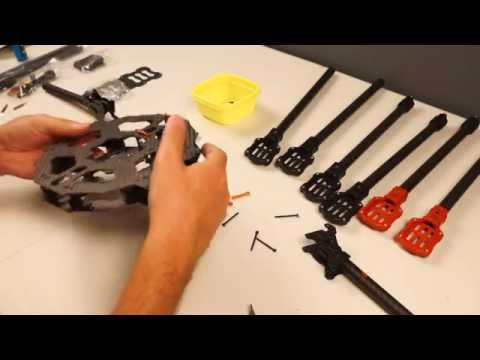 Hexacopter Build Part 1 - Tarot FY690S Frame and its Parts