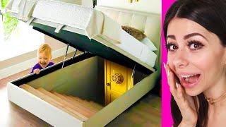 People Finding SECRET HIDDEN ROOMS In Their Homes !