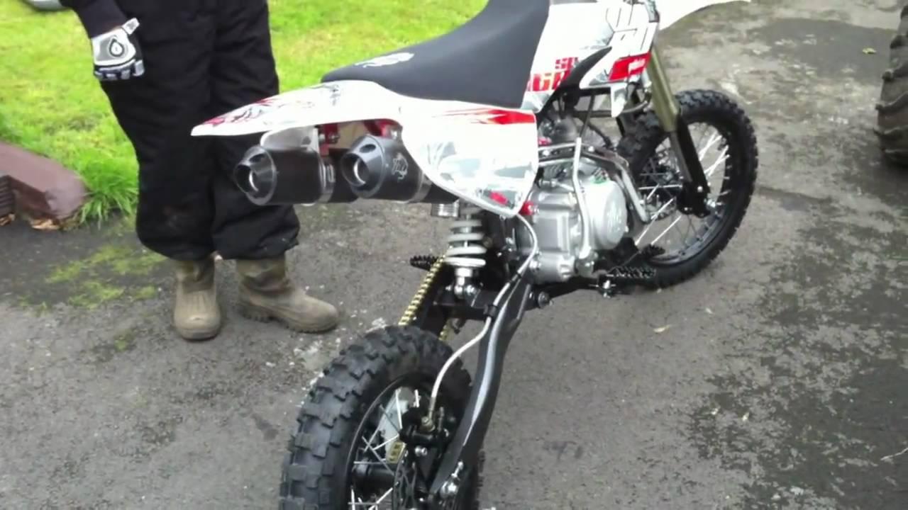 mini bike 160cc welsh pit bike demon x stomp - YouTube