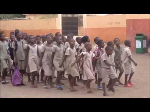 Ecole Lomé cité, rentrée en classe