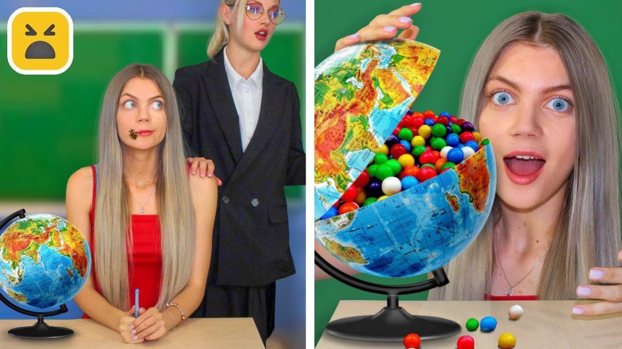 10 Ways To SNEAK FOOD Into SCHOOL || Back To School Pranks on Teacher By Mr Degree