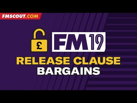 FM19 release clauses | Top Football Manager 2019 release clause players under £1m