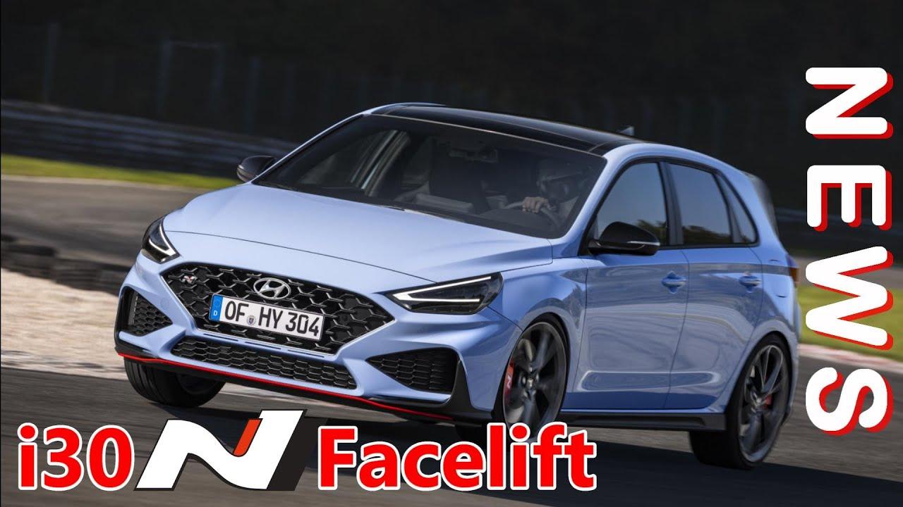 Hyundai i30N Performance Facelift 2021 - Vorstellung, Neuerungen, Eindrücke - Kurze Sound Sequenzen