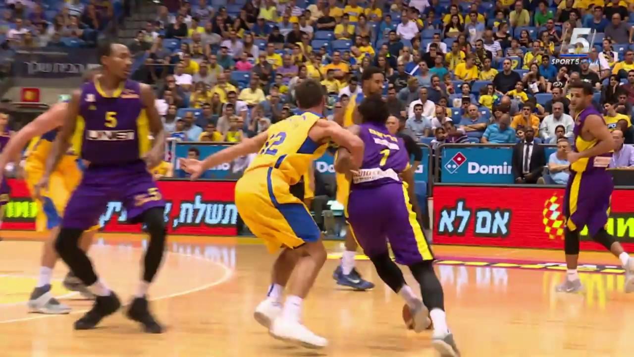 Kết quả hình ảnh cho Maccabi Tel Aviv vs Hapoel Holon