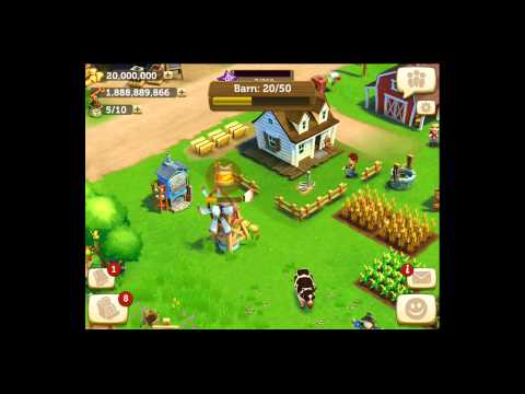 Farmville 2: Country Escape [iPad Gameplay] Ep 6 Toolshed and Dairy Barn from YouTube · High Definition · Duration:  8 minutes 35 seconds  · 6000+ views · uploaded on 01/05/2014 · uploaded by I Play For Fun
