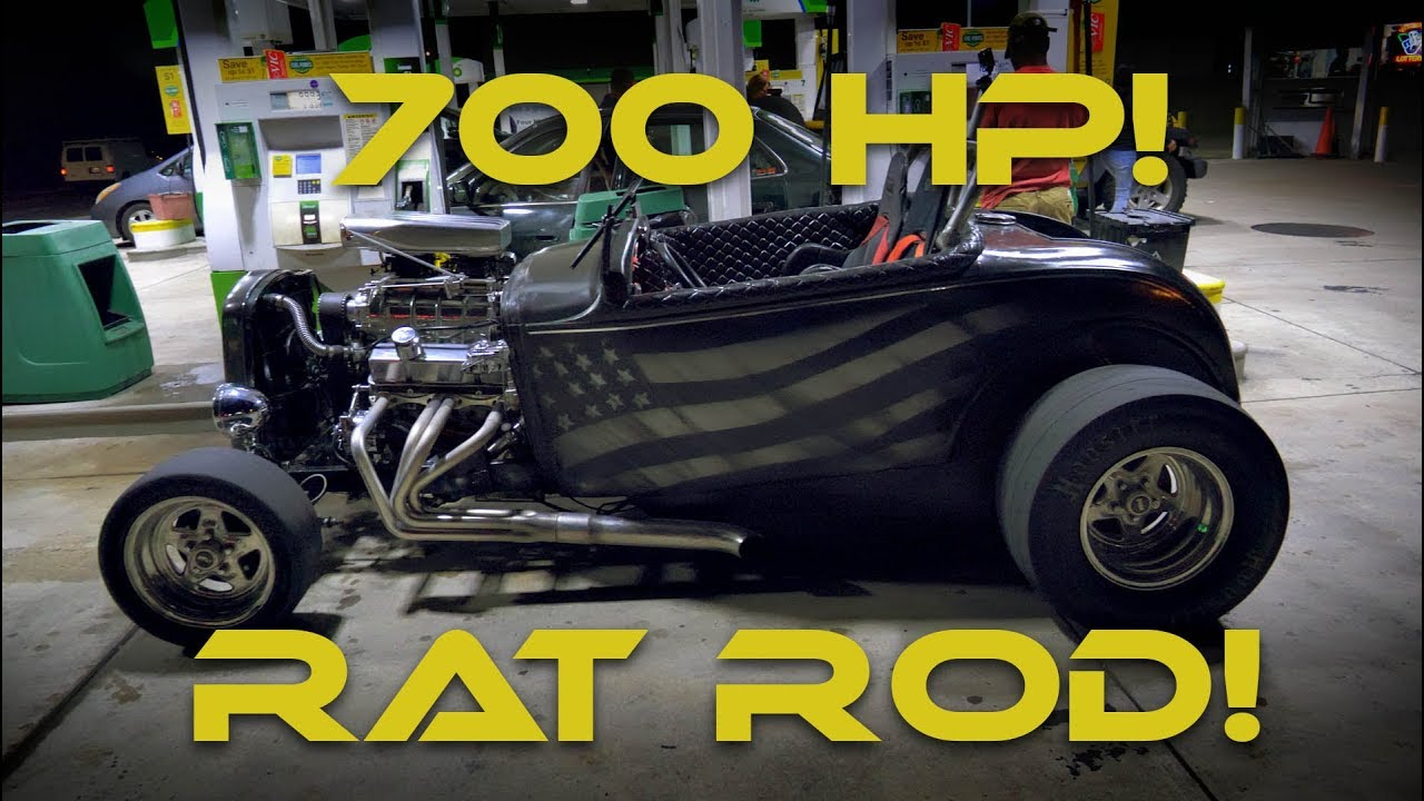 """700HP 406 SBC Rat Rod with a 6-71 Supercharger """"So Much Freedom!"""""""