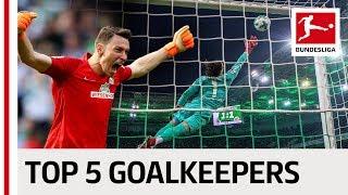 The Best Goalkeepers of the Season - Pavlenka, Fährmann & Co.