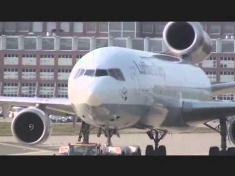 COMPILATION B747 B777-A330-A380 Etc... LHR,FRA,AGP (PART 1)