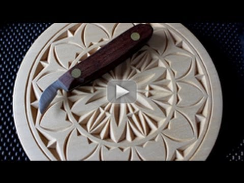 My chip carving proper technique youtube