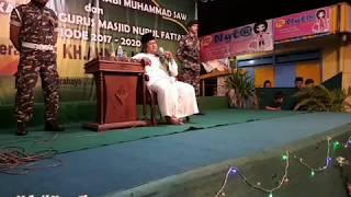 Gus Muwafiq 22/01/2018 ; Ceramah Khas, Komplit, Berkwalitas ; Khalifah & Sejarah Di Sby