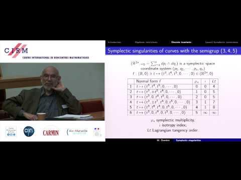 Wojciech Domitrz: Symplectic singularities of varieties