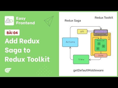 Redux Saga - 04 Add Redux Saga vào Redux Toolkit 🎉