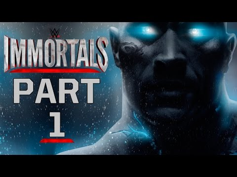 "WWE Immortals - Let's Play - Part 1 - ""An Epic Fighting Game"""