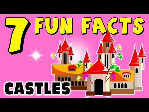 7 FUN FACTS ABOUT CASTLES! FACTS FOR KIDS! Learning! Learning Colors! Funny! Knights! Sock Puppet!