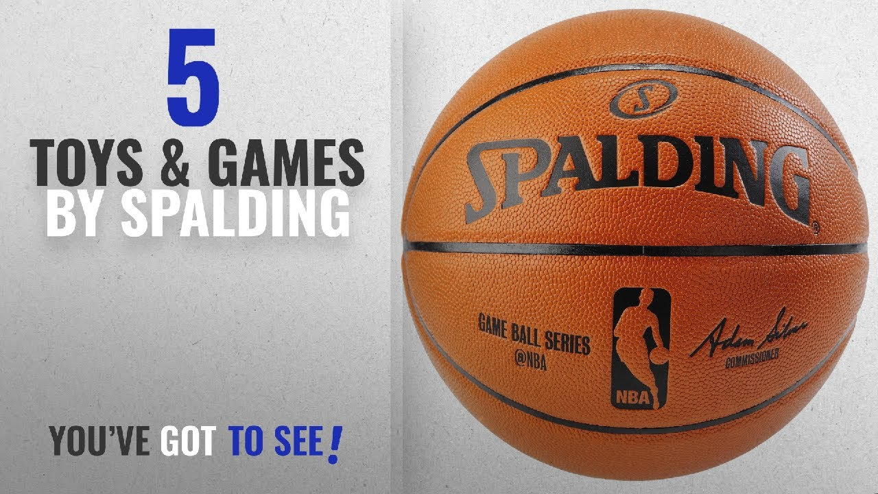 Top 10 Spalding Toys   Games  2018   Spalding NBA Replica Indoor ... 795f64a81