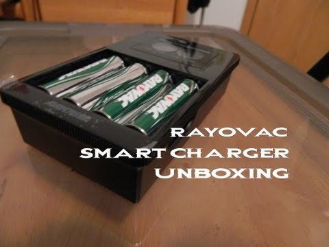 Review : Rayovac Smart Charger with Batteries and Charger
