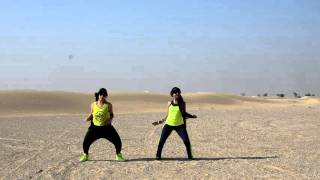 Zumba Bollywood dance workout on Afghan Jalebi ....