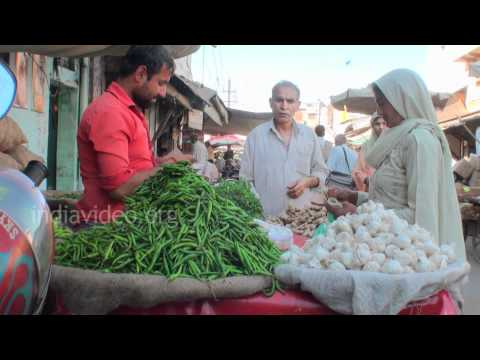 Local Vegetable Market, Hisar