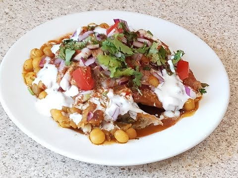 Chatpati Samosa Chat || [vlog#52] Indian Vlogger Rumana In UK|| Easy Recipe, Indian Street Food