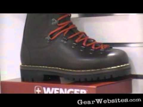 Wenger Swiss Army Boots Youtube