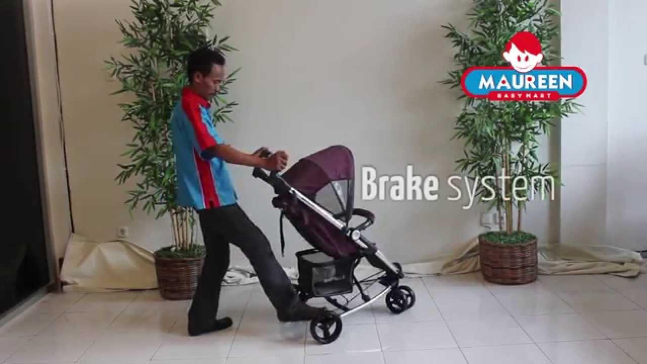 CARA MENGGUNAKAN STROLLER Baby Elle Maxi S601 - YouTube
