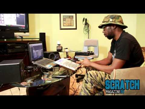Kev Brown Makes A Beat Using the MPC Studio And Edigging.com