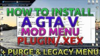 [TU27] How To Install A GTA V Mod Menu | Plugin/.xex | Purge & Legacy | +Download [JTAG/RGH]