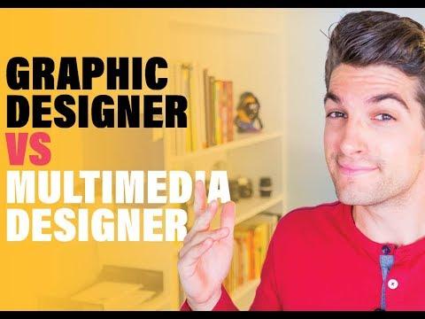 Graphic Designer Vs Multimedia Designer