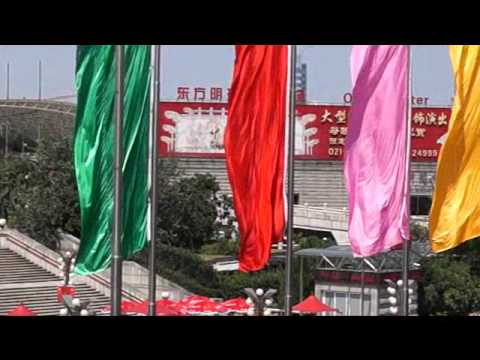 Shanghai October 1st Chinese National Holiday