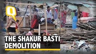 The Shakur Basti Demolition: Who Said What