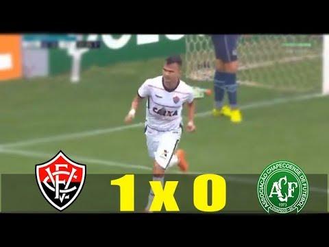 Chapecoense 0 x 1 Vitória - Gol & Melhores Momentos (Completo) - Brasileirão 2018