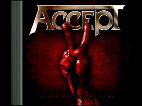 Accept 2010 Blood Of The Nations *Album*