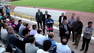 إطار استعدادا مصر لبطولة افريقيةمحافظ الإسماعيلية يتفقد ملعب النادي الإسماعيلي