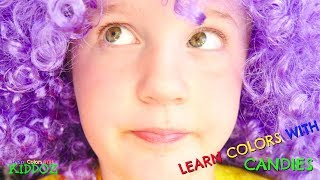 Learn Colors With CANDIES (Funny Skit)