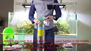 DIY CO2 Citric acid and Baking soda canister