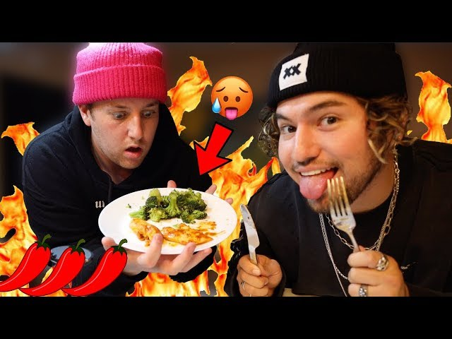 Following My Roommates Diet For A Day W/ Jc Caylen!
