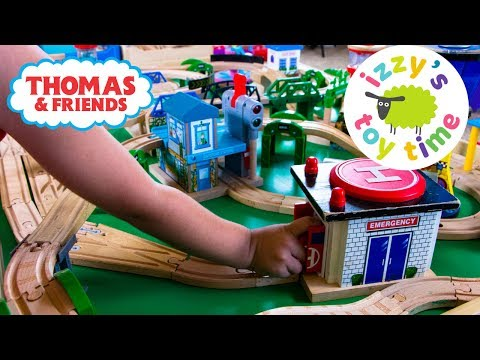 THOMAS TRAIN ULFSTEAD SIGNAL STATION! Thomas and Friends with Brio Trackmaster | Toy Trains for Kids