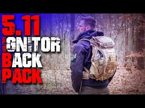 5.11 Ignitor Backpack Rucksack - Review Test - Outdoor Survival Trekking Bushcraft