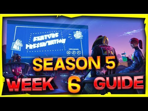 Fortnite Season 5 Week 6 Challenges Guide And Locations