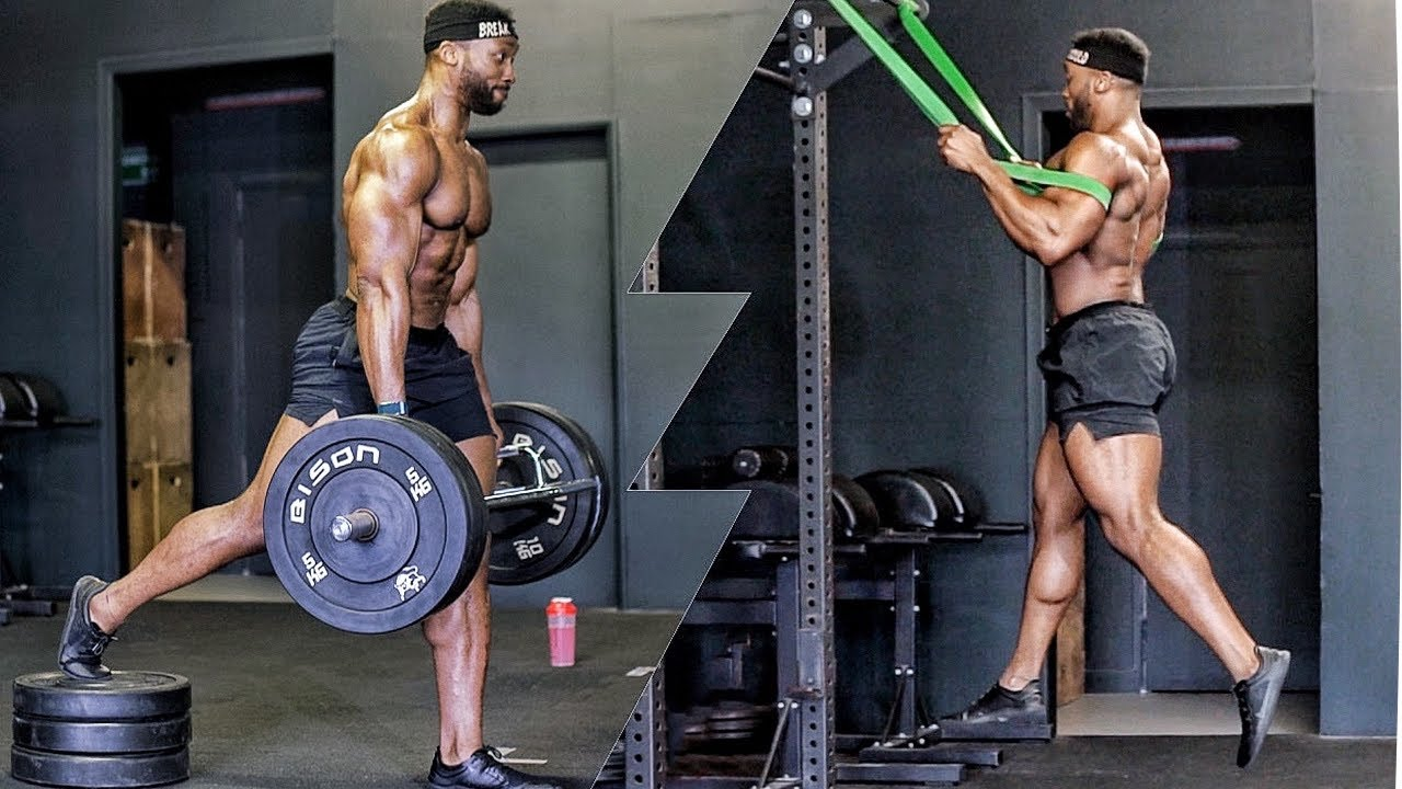 EXPLOSIVE WORKOUT | Pro NFL Football & Rugby Training